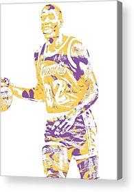 Magic Johnson Acrylic Prints