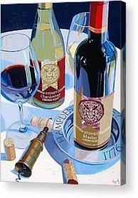 Bottle Acrylic Prints