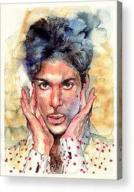 Prince Rogers Nelson Acrylic Prints