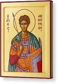 St Demetrios Acrylic Prints