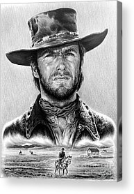 Cowboy Movie Acrylic Prints