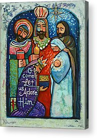 Star Of Bethlehem Acrylic Prints