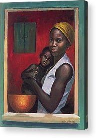 The Mother Acrylic Prints