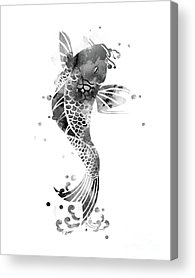 Animals And Feng Shui Art Acrylic Prints