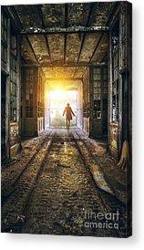 Factory Photographs Acrylic Prints