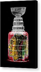Ice Hockey Acrylic Prints