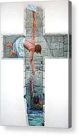 Religious Artist Acrylic Prints