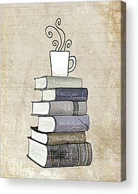 Books Acrylic Prints
