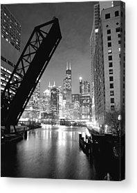 Chicago Skyline Acrylic Prints