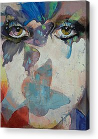 Tear Acrylic Prints