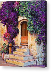 Medieval Entrance Acrylic Prints