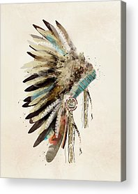 Feather Digital Art Acrylic Prints