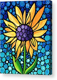 Sunflower Patch Acrylic Prints