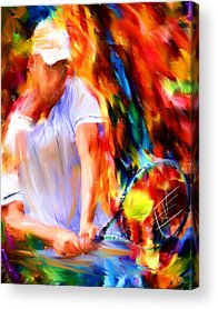 Racket Acrylic Prints