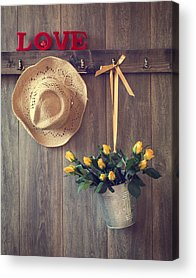 Hanging Basket Acrylic Prints