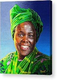 Mama Africa Acrylic Prints