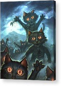 Zombie Acrylic Prints