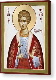 St Chrestos Of Preveza Acrylic Prints