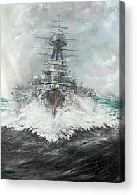 Dreadnought Acrylic Prints
