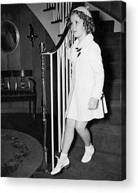 Shirley Temple Acrylic Prints