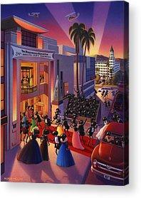 Red Carpet Acrylic Prints