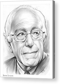 Bernie Sanders Acrylic Prints