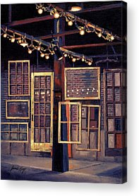 The Factory In Franklin Tennessee Acrylic Prints