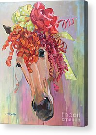 Forelock Paintings Acrylic Prints