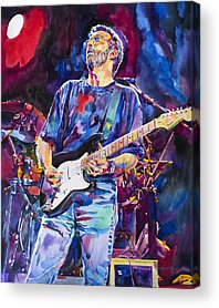 Eric Clapton Acrylic Prints