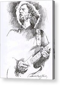Strat Drawings Acrylic Prints