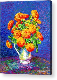 Floral Happiness Acrylic Prints