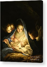 Nativity Scene Acrylic Prints