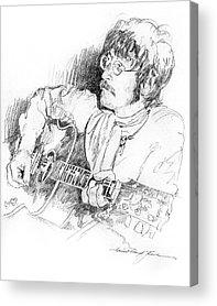 Beatles Drawings Acrylic Prints