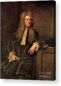 Newton Paintings Acrylic Prints
