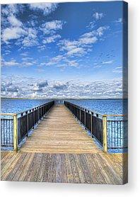 Dock Acrylic Prints