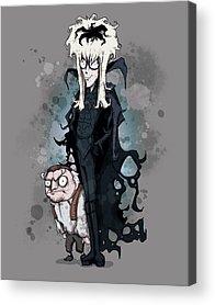 Tim Burton Acrylic Prints