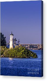 Port Of Tampa Acrylic Prints