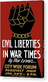Civil Liberties Acrylic Prints