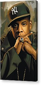 Jay Z Acrylic Prints
