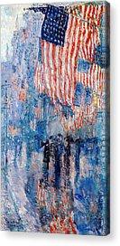 Patriotism Acrylic Prints