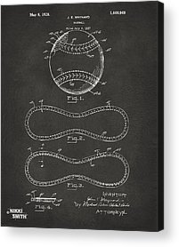 Vintage Patent Acrylic Prints