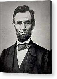 Abraham Lincoln Images Acrylic Prints