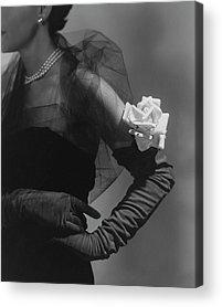 Long Gloves Acrylic Prints