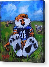 Mascots Acrylic Prints