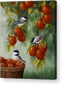 Orchard Paintings Acrylic Prints