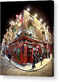 Temple Bar Acrylic Prints