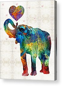 Crib Acrylic Prints