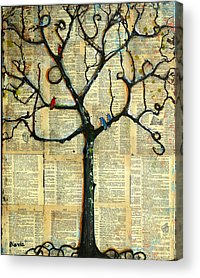 Pages Of Life Acrylic Prints
