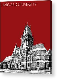 Harvard Acrylic Prints