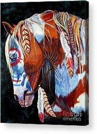 Wild Mustang Acrylic Prints